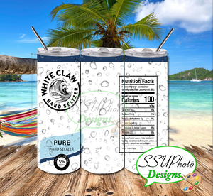 W Claw  Seltzer Collection Tumbler Straight