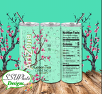 Arizona Green Tea 20 OZ Skinny Tumbler Straight Digital
