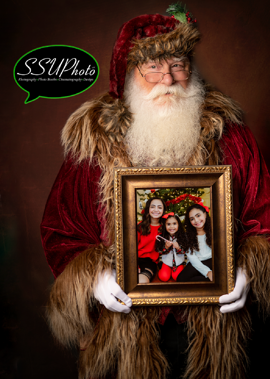 Prints only* Virtual Photos with Santa