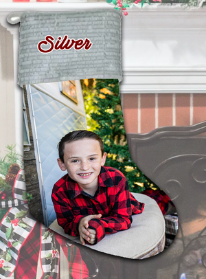 Personalized Photo Holiday Stockings