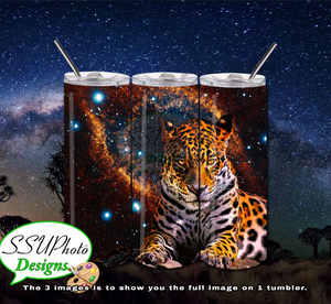 Eye Of The Tiger 20 OZ Skinny TumblerD Digital Design