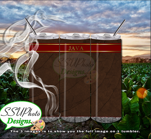 Cigar 20 OZ Skinny TumblerD Digital Design