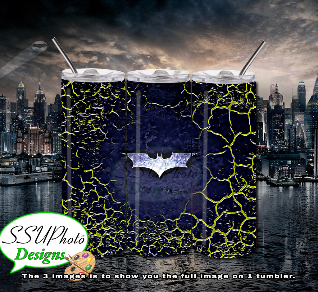 Batman Collection 20 OZ Skinny TumblerD Digital Design