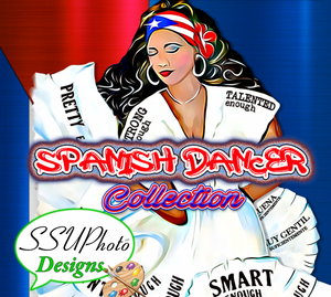 Spanish Dancer Girl Tumbler