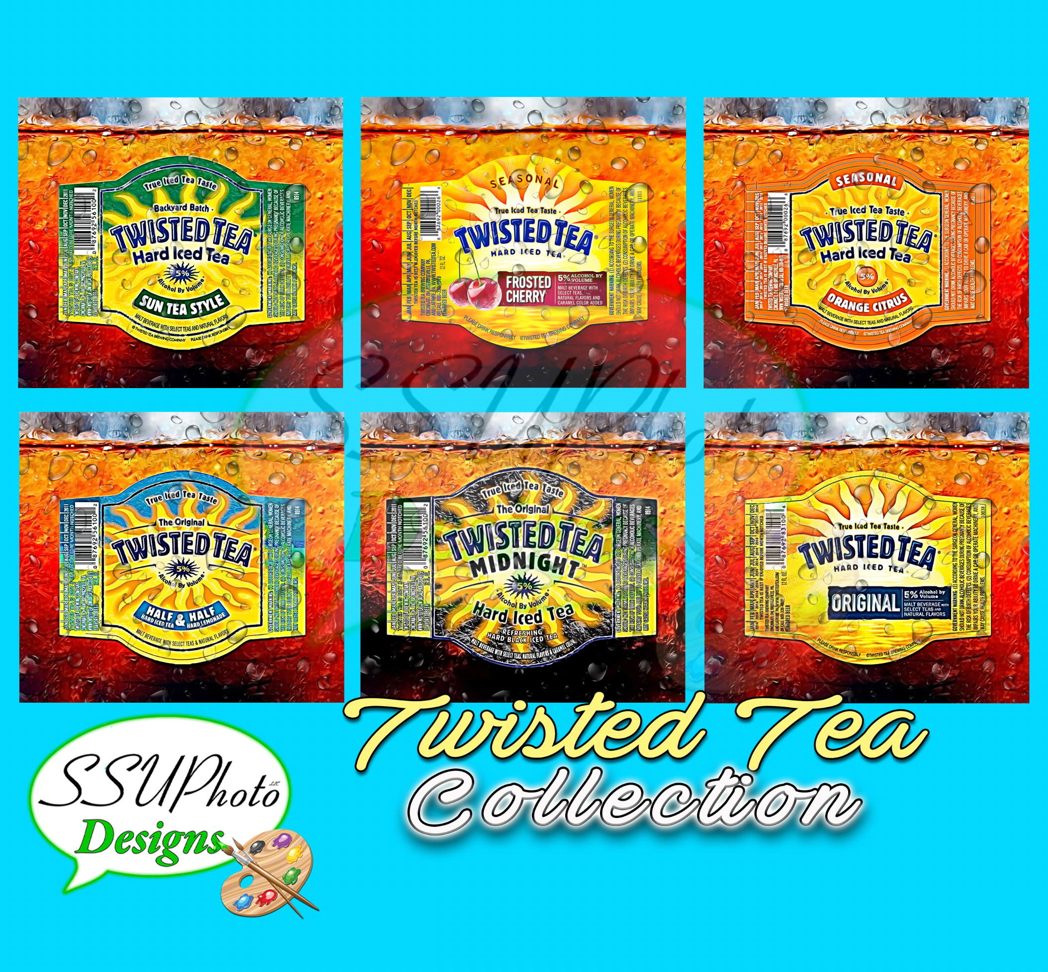 Twisted Tea Bottles Collection Tumbler