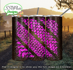 Mud tracks Multiple Colors 20 oz and 30oz OZ Skinny TumblerD Digital Design