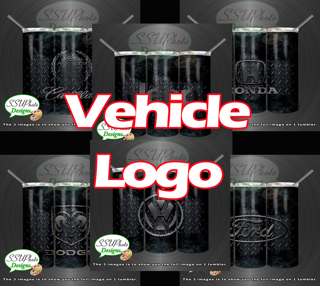 Vehicle Logo Collection 20 OZ Skinny TumblerD Digital Design