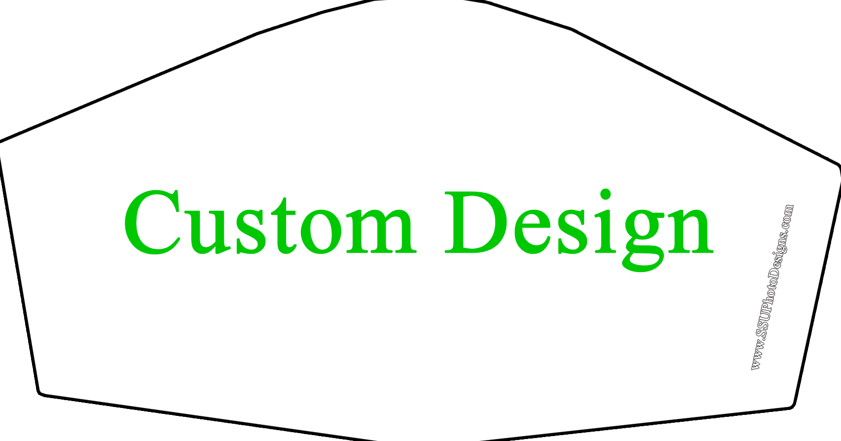 Custom Design Novelty Face Covers