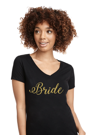 Bride Gold Wedding Apparel