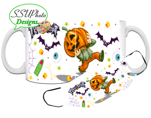Halloween Mug and Mask Combo