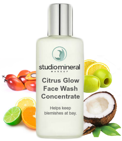Citrus Glow Facial Wash Concentrate / Vitamin C Wash / Blemish Skin Cleanser