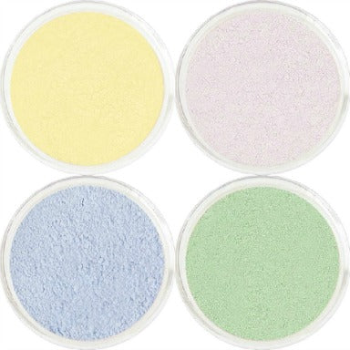 4 Color Powder Corrector / Concealer Set Green / Yellow / Blue / Lavender