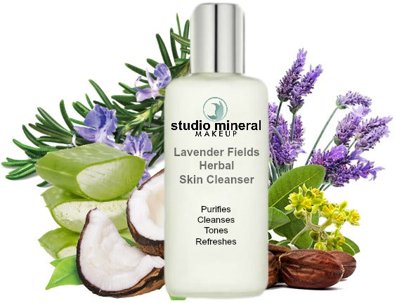 Organic Lavender Herbal Facial Cleanser Concentrate / NEW LARGER SIZE!