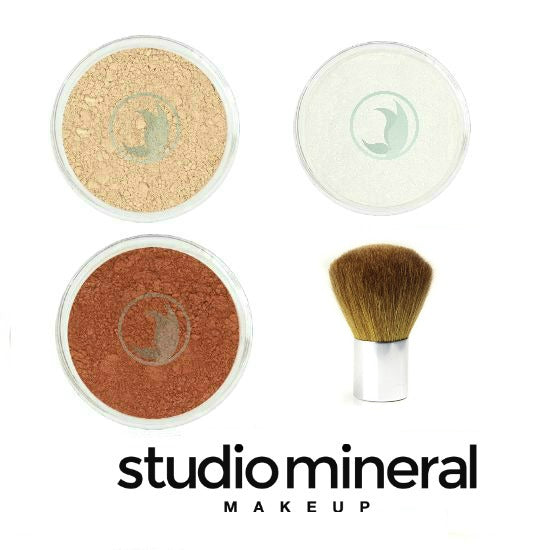 Studio Mineral Makeup Basic Essentials Kit / Makeup Set