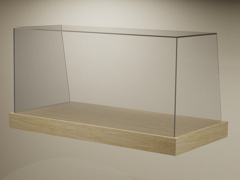 FP03SQ Ambient Square Glass Counter-Top Cake Display (by FIKA)