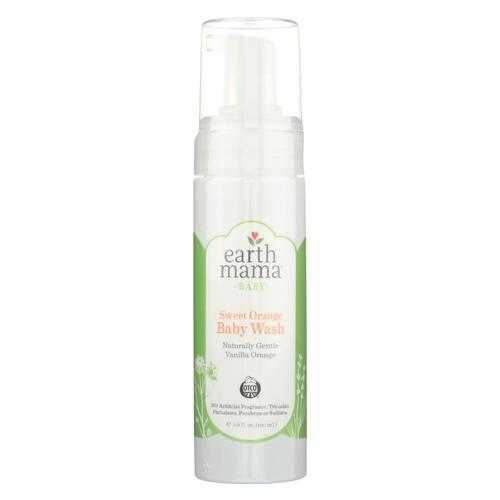 Earth Mama - Baby Wash - Vanilla Orange - 5.3 fl oz.