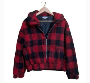 Buffalo Plaid Cozy Jacket