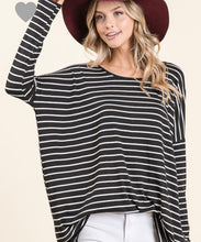 Load image into Gallery viewer, Oversized Striped Tunic