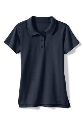 Girls Jersey Knot Polo