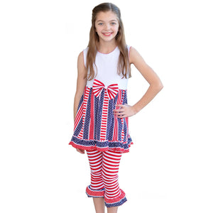 Stars and Stripes Tunic ans Capri
