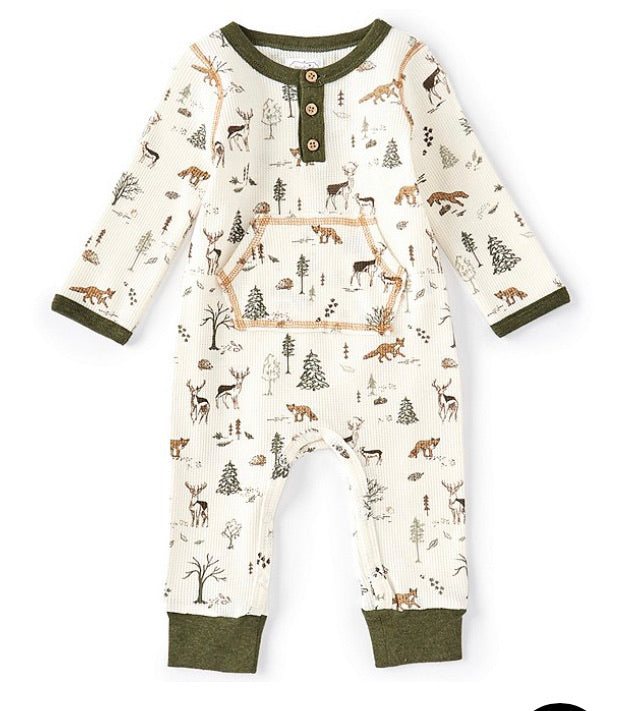Forest Friends Romper