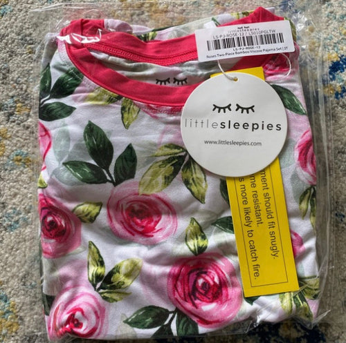 Little Sleepies Roses 2 piece
