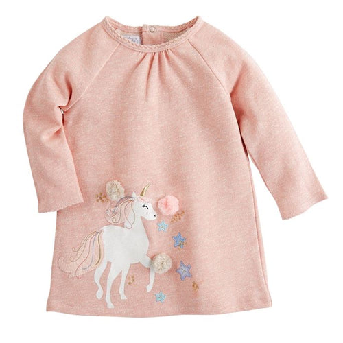 Unicorn French Terry Dress