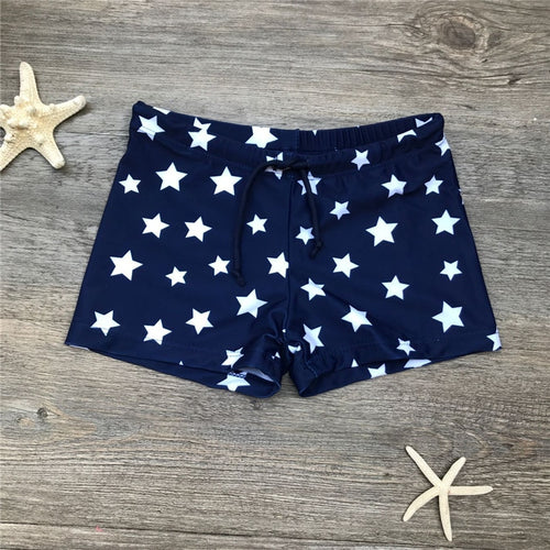 Stars Swim Trunks Sizes 2-7/8
