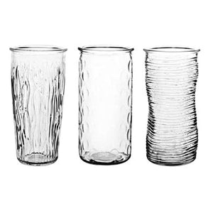Assorted Clear Vase
