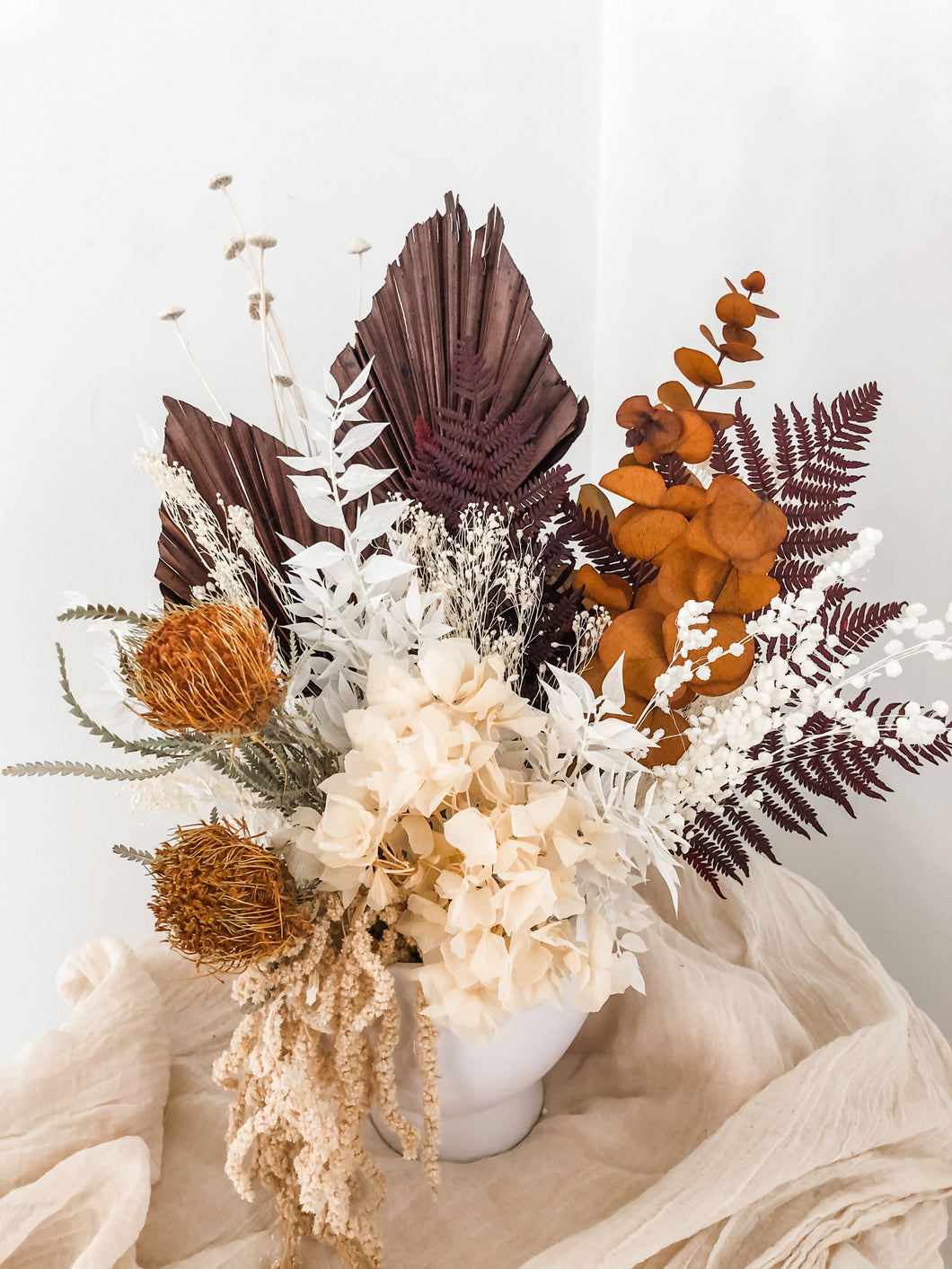 A la Carte: Dried Floral Arrangements