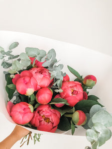 'Lovely' Peony Bouquet