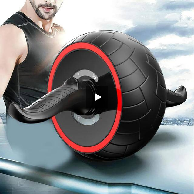 Fitness Speed Training Ab Roller Abdominal Exercise Rebound Wheel Workout Gym Resistance Sports red - Product upscale