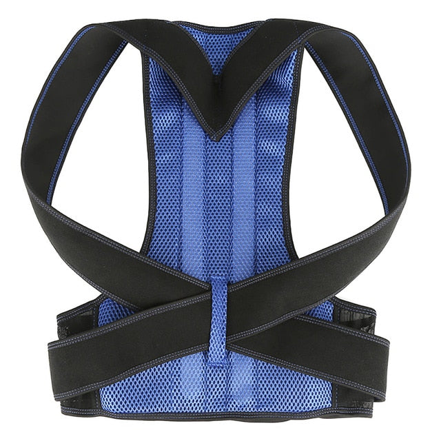 Product upscale Adjustable Posture Corrector Back Support Shoulder Lumbar Brace Support Corset Back Belt Spine for Unisex Adult for Dropshipping - Product upscale