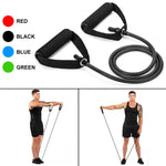 120cm Yoga Pull Rope Resistance Bands Fitness Gum Elastic Bands Fitness Equipment Rubber expander Workout Exercise Training Band - Product upscale