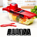Vegetable Cutter with Steel Blade Mandoline Slicer Potato Peeler Carrot Cheese Grater vegetable slicer Kitchen Accessories Tool - Product upscale