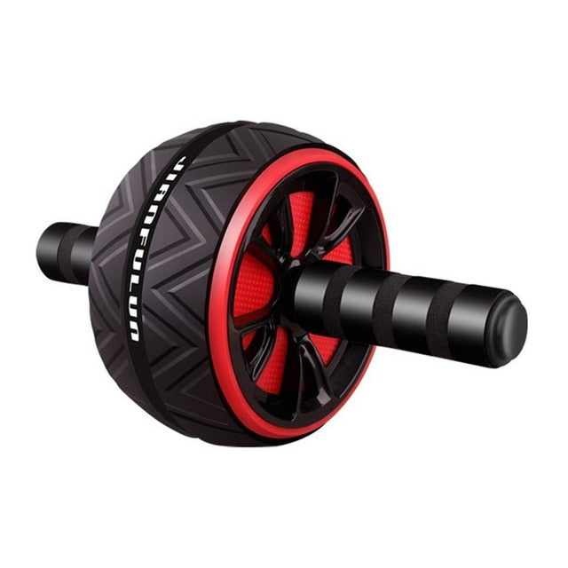 Silent TPR Abdominal Wheel Roller Trainer Fitness Equipment Gym Home Exercise Body Building  roller Belly Core Trainer - Product upscale