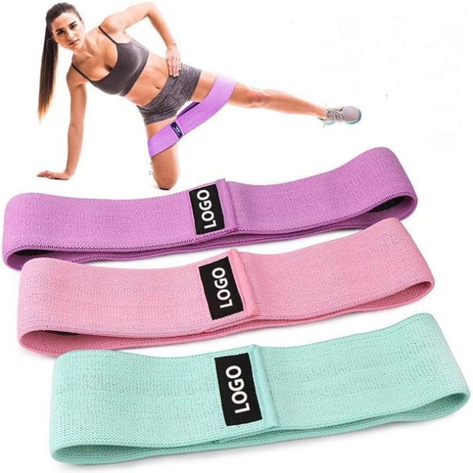 Hip Trainer Yoga stretch band Training Pull Rope For Sports Pilates Hip belt Fitness Hip Loop Resistance Bands Squat belt - Product upscale