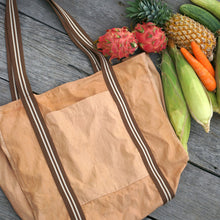 Load image into Gallery viewer, Big Grocery Bag for easy grocery shopping - Xiapism Natural Dye