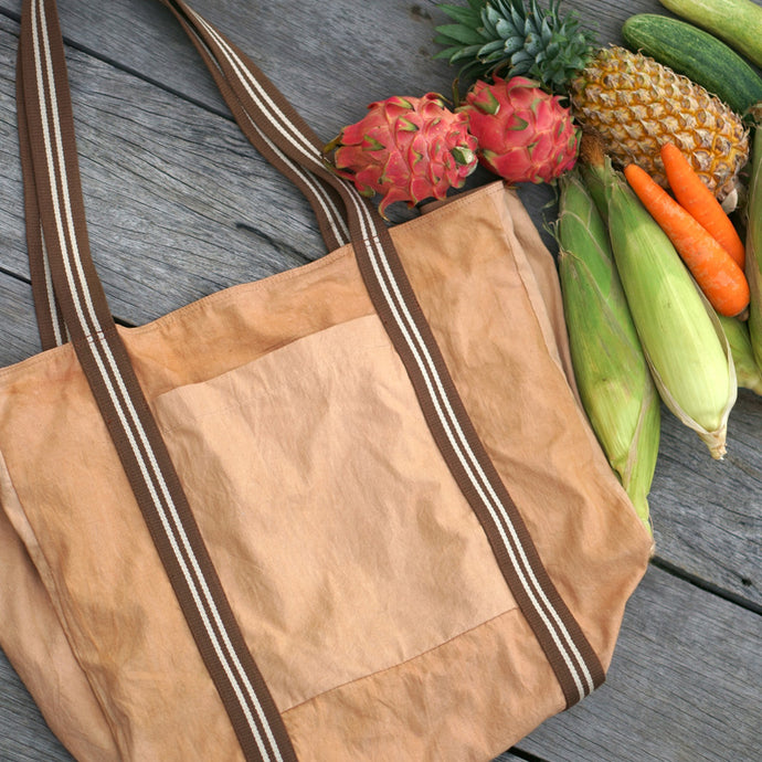 Big Grocery Bag for easy grocery shopping - Xiapism Natural Dye