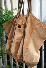 Load image into Gallery viewer, Mangrove Natural dye Big Grocery Bag - Xiapism Natural Dye
