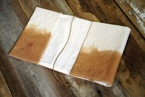Rustic Canvas Book Jacket