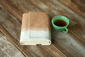 Canvas Book Jacket by Xiapism Natural Dye