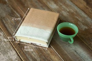 Measurement of Canvas Book Jacket - Xiapism Natural Dye