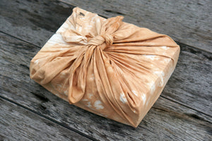 Furoshiki Wrap a gift or  Lunch Box - Xiapism Natural Dye
