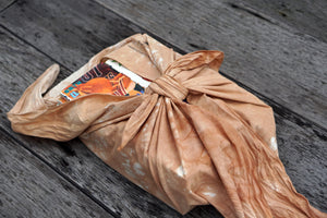 Furoshiki Wrapping Cloth can warp all kind of things- Xiapism Natural Dye