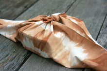 Load image into Gallery viewer, Furoshiki Wrapping Cloth to wrap a lunch box - Xiapism Natural Dye