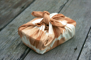 Furoshiki Wrapping Cloth wrap a lunch box - Xiapism Natural Dye