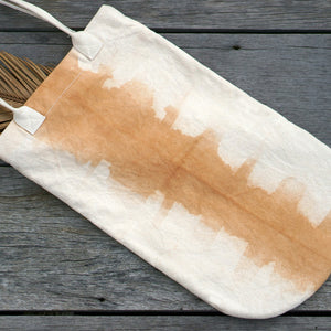 Rounded Canvas Tote - Xiapism Natural Dye