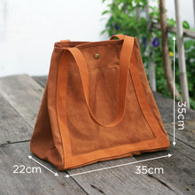 Load image into Gallery viewer, Measurement of Eco Shopping Bag - Xiapism Natural Dye