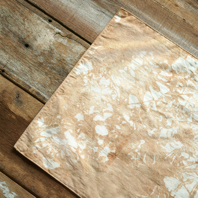 Flat end  Table Runner - Xiapism Natural Dye